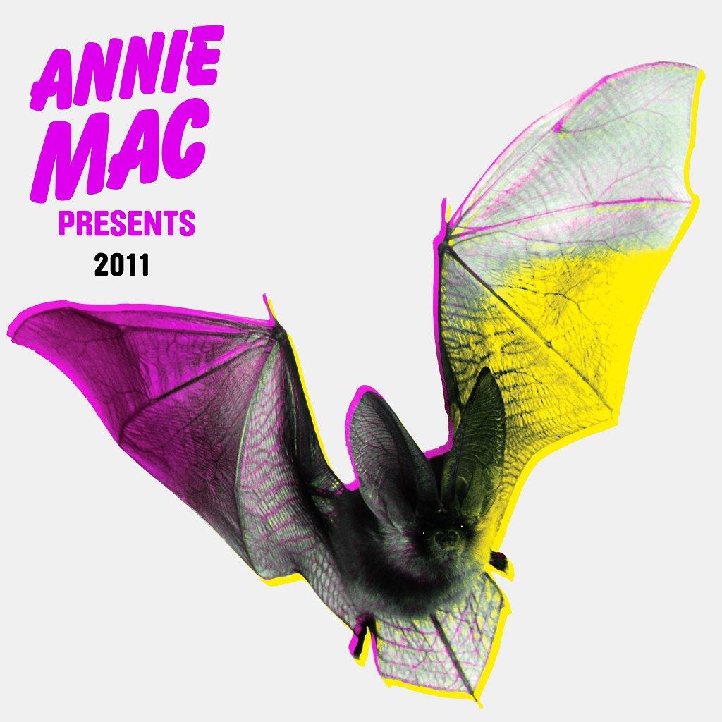 Annie Mac presents - Album Launch Party - Flyer front