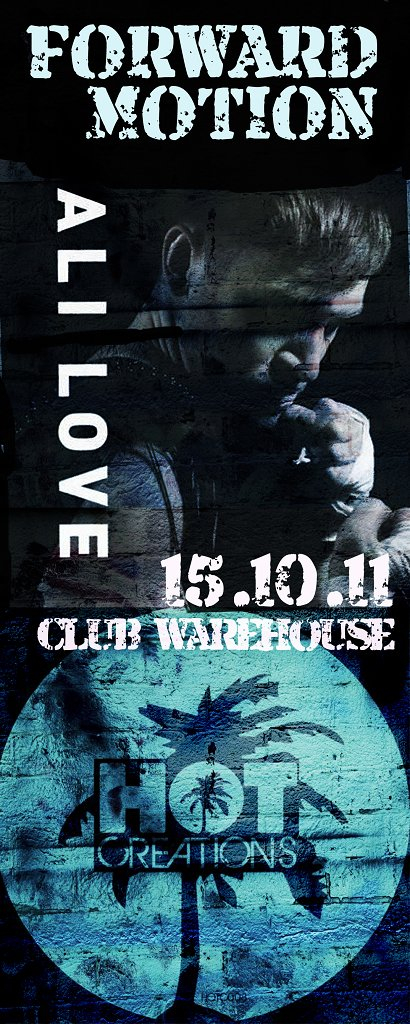 Ali Love Perf Live Pa Forward Motion - Flyer front
