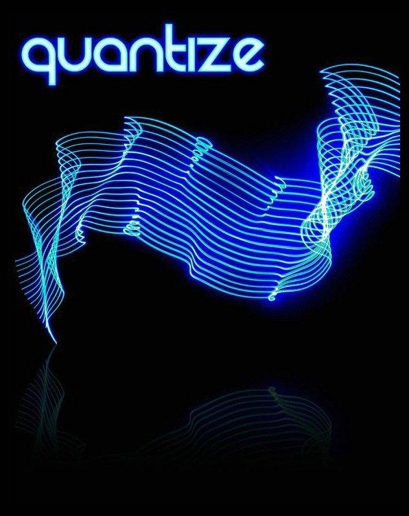 Quantize - Secret Loft Party - Flyer front