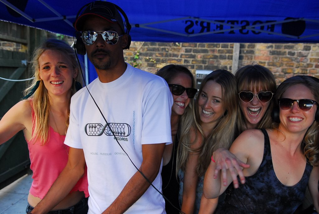 Gouranga 5th Birthday Party feat Miguel Campbell - Flyer back