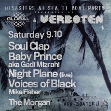 Disasters At Sea Ii Afterparty with Soul Clap, Gadi Mizrahi, Voices Of Black, Night Plane, Mike Fisher - Flyer back