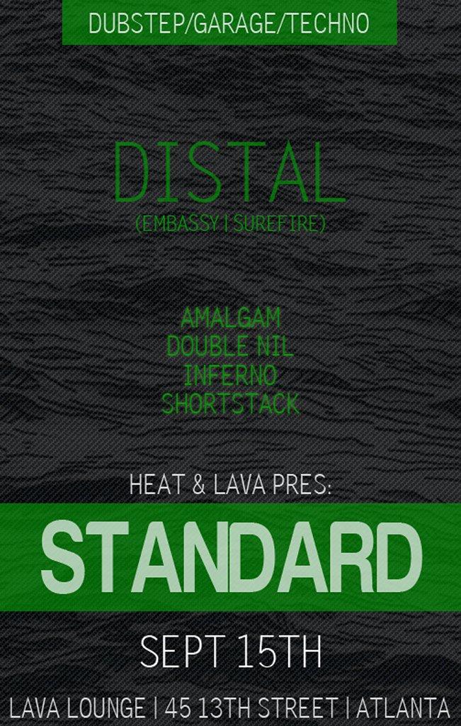 Standard feat Distal - Flyer front