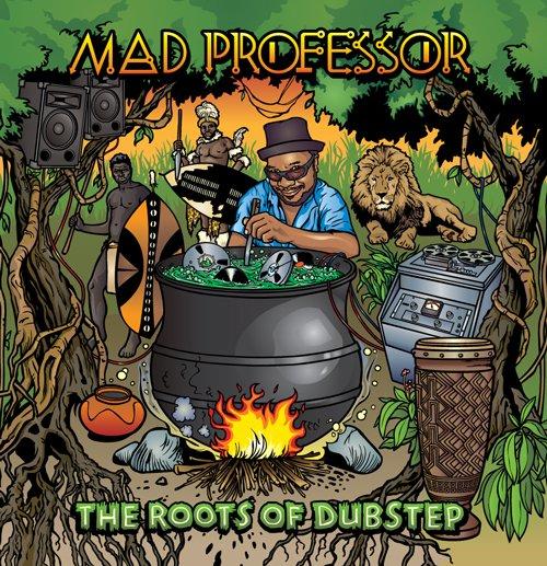 Dubspot Live Ustream Workshop: Mad Professor - Flyer front