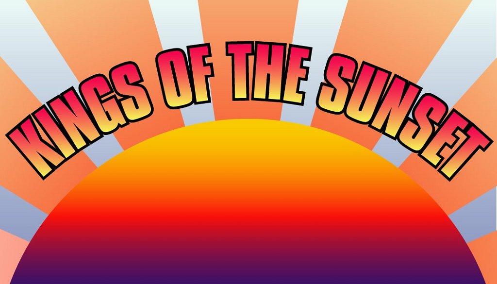 Kings Of The Sunset - Flyer back