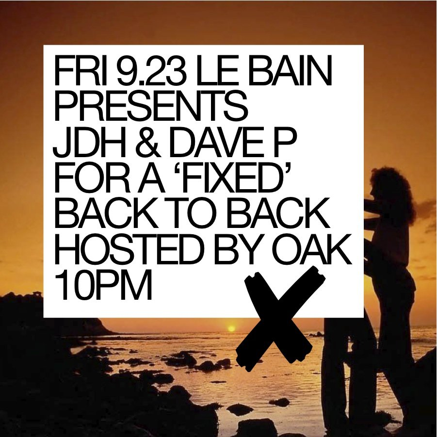 Jdh & Dave P - Flyer front