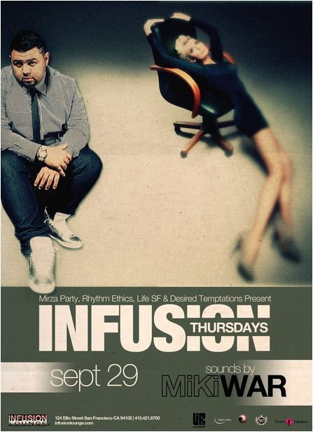 Infusion Thursdays - Flyer front