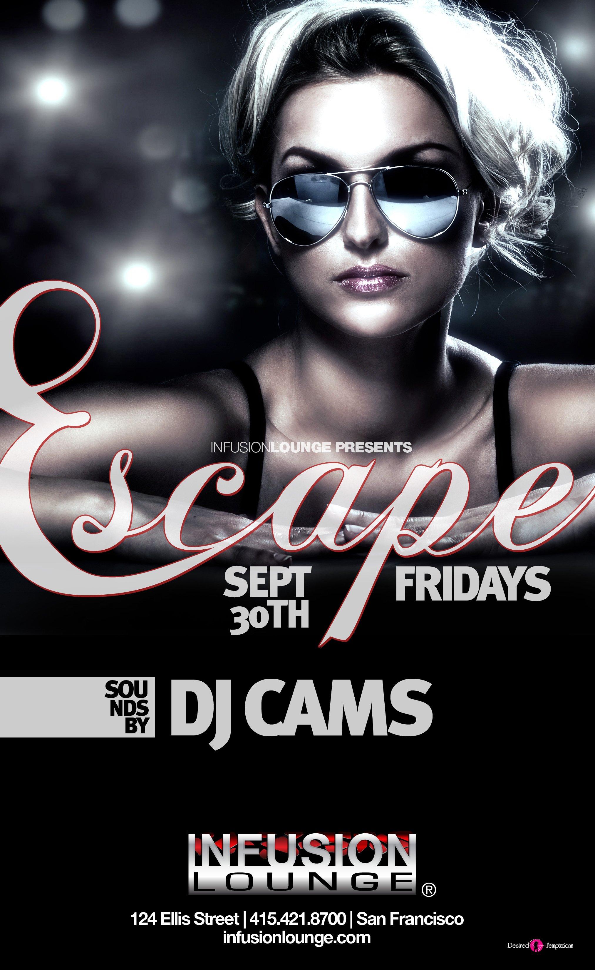 Escape Fridays - Flyer front