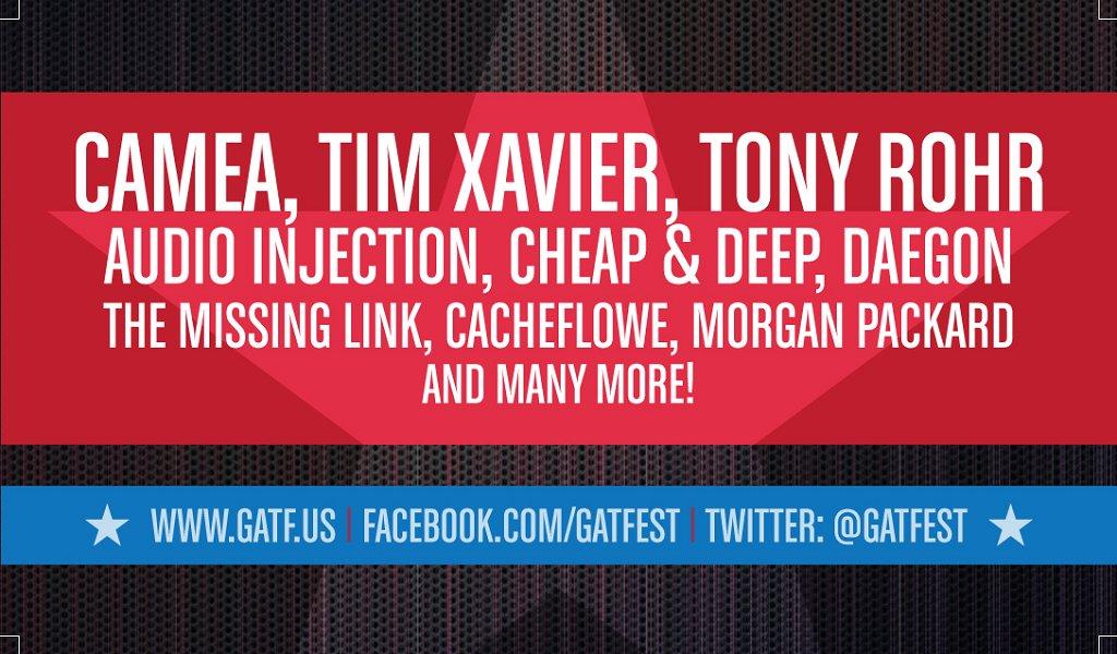 Gatf Live Pa Showcase - Flyer back