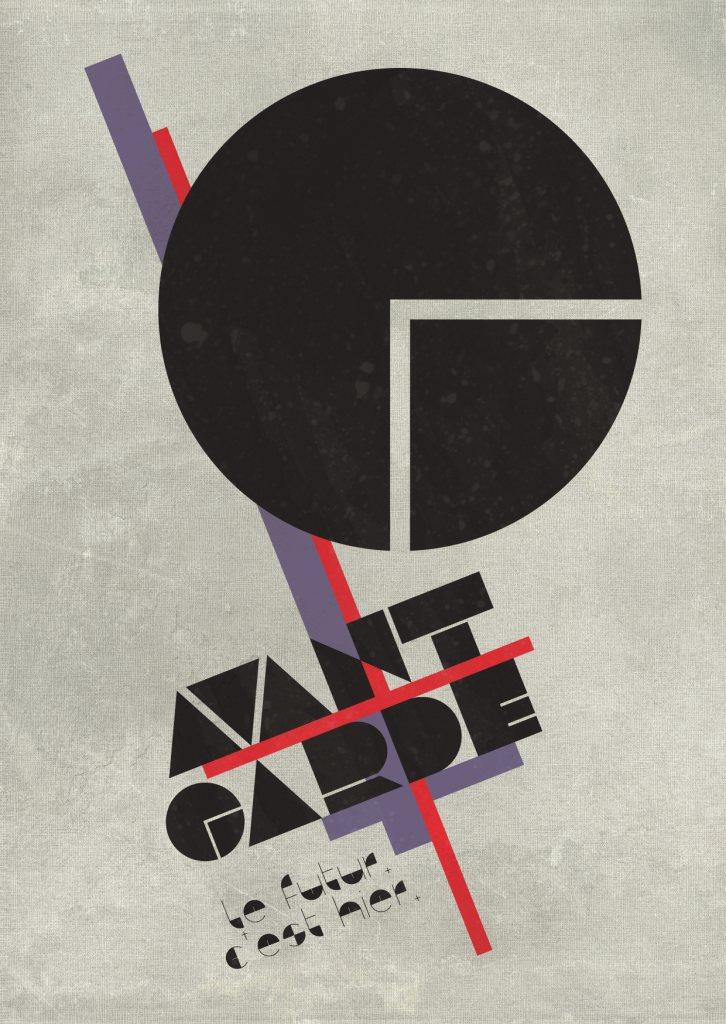 Avantgarde - Flyer front
