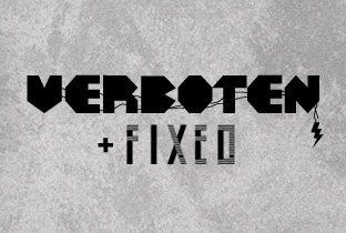Verboten & Fixed present Aeroplane & Catz 'n Dogz - Flyer front