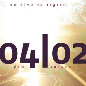 There Is No Time To Regret - Flyer front