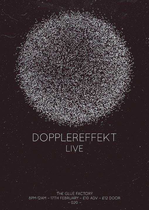 020// Dopplereffekt - Live - - Flyer front