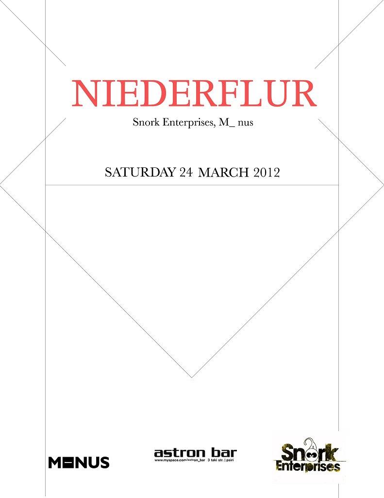 Niederflur, Biomusik - Flyer front