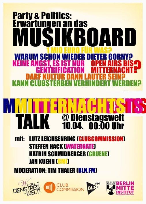 Dienstagswelt: Kallias Nacht - Flyer back