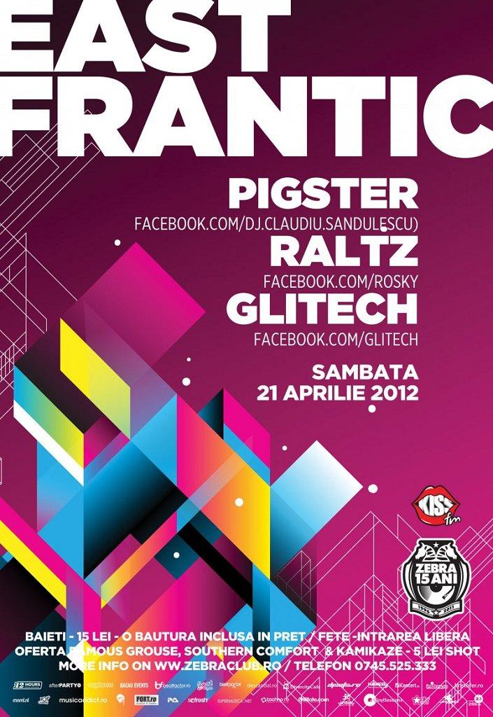 East Frantik - Flyer front