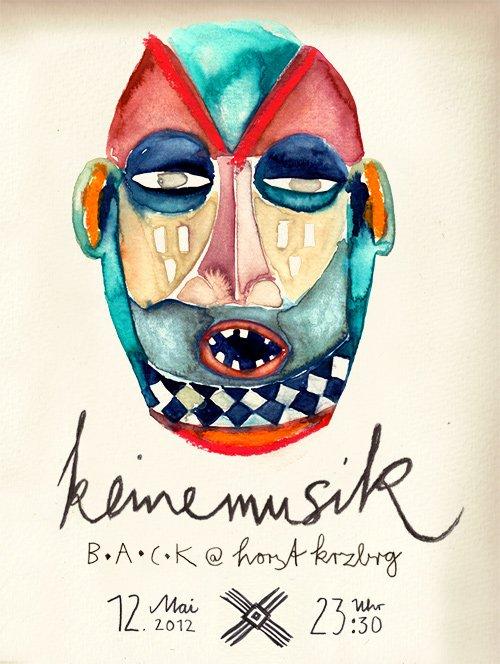 Keinemusik Back at Horst - Flyer front