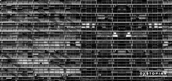 Dystopian with Cosmin TRG, Heartthrob, Pär Grindvik, Dustin Zahn,Rødhåd, Alex.Do & More - Flyer front