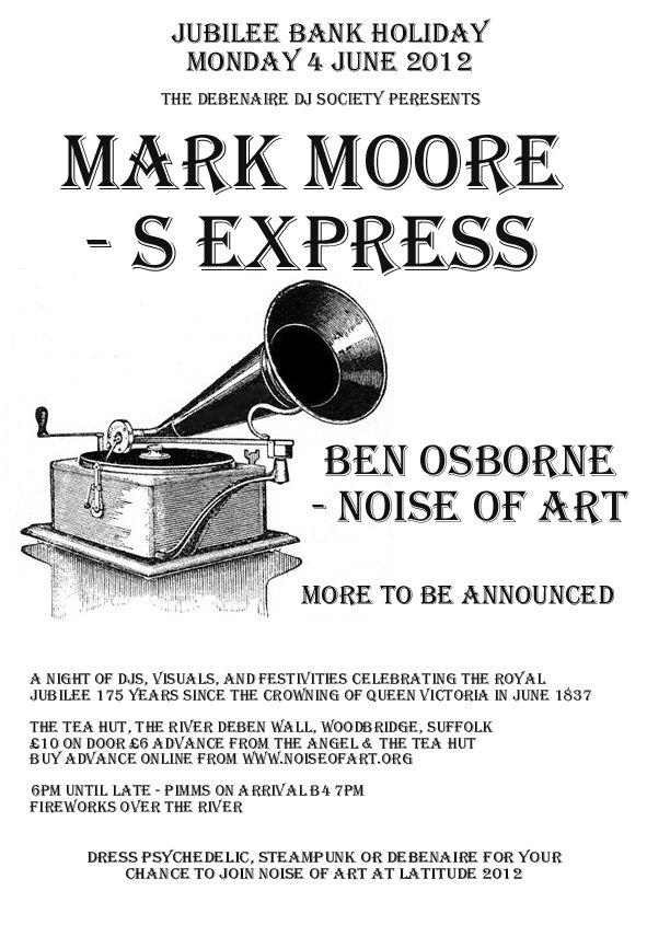 Jubilee Curiosity with Mark Moore and Ben Osborne - Flyer front