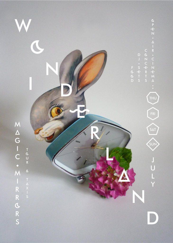 In Wonderland /// Cancelled /// - Flyer front