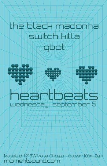 Heartbeats - Flyer front