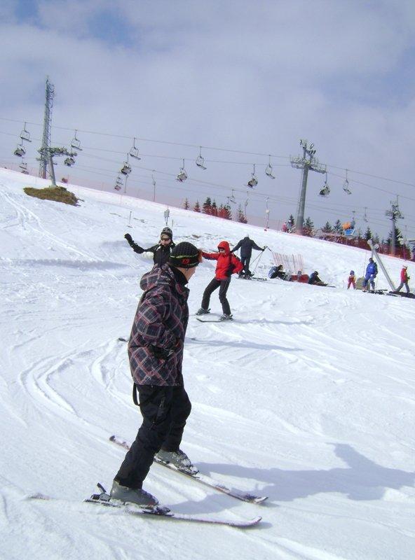 Smartie Partie On Snow 2012 - Flyer back