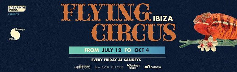 Flying Circus Season Closing - Flyer front