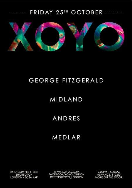 George Fitzgerald x Midland x Andrés x Medlar - Flyer front