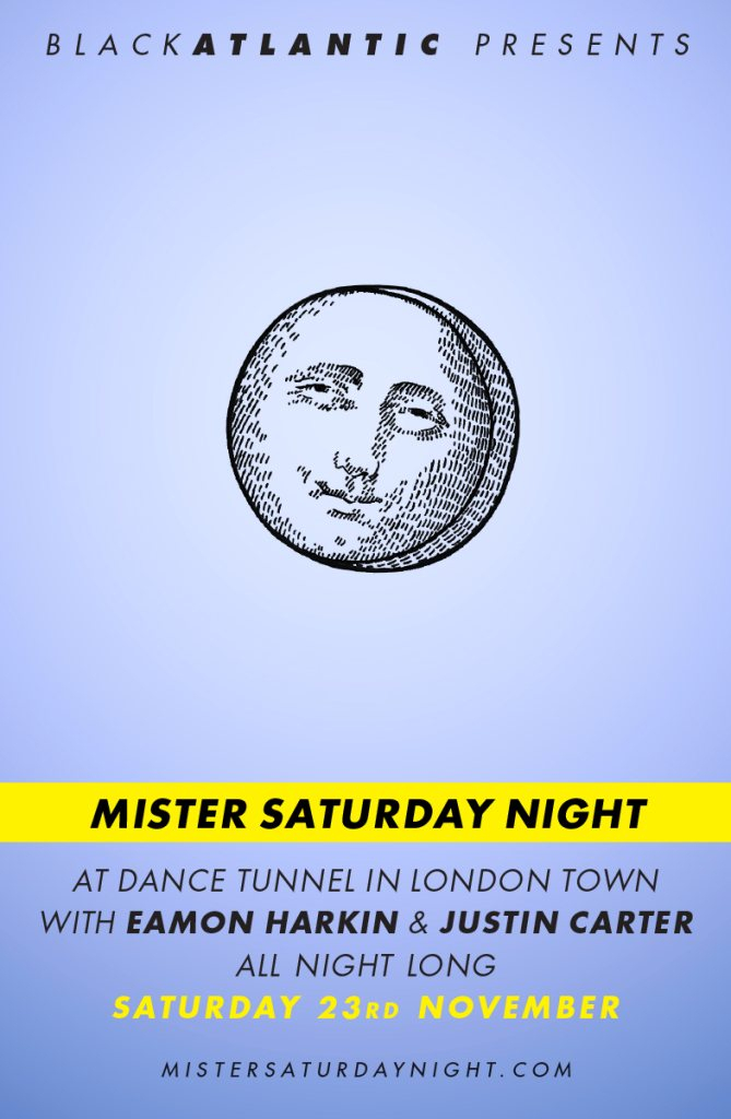 Mister Saturday Night - Flyer front