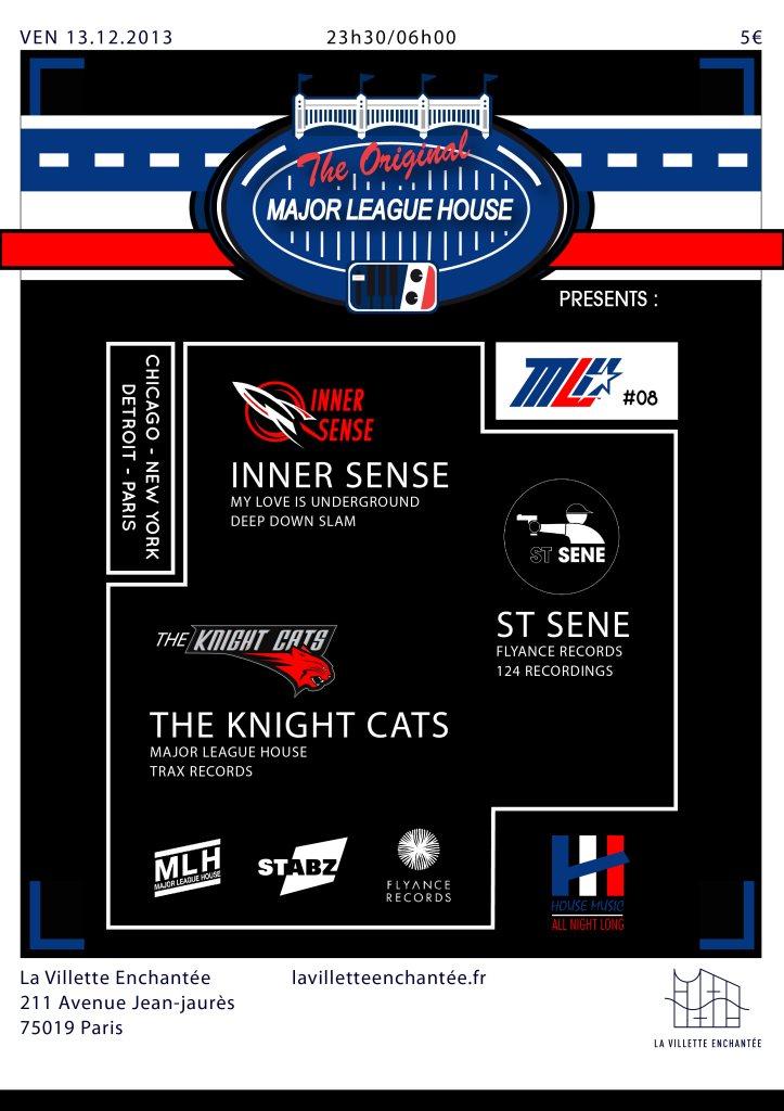 MLH #08 with Inner Sense, St. Sene & The Knight Cats - Flyer back