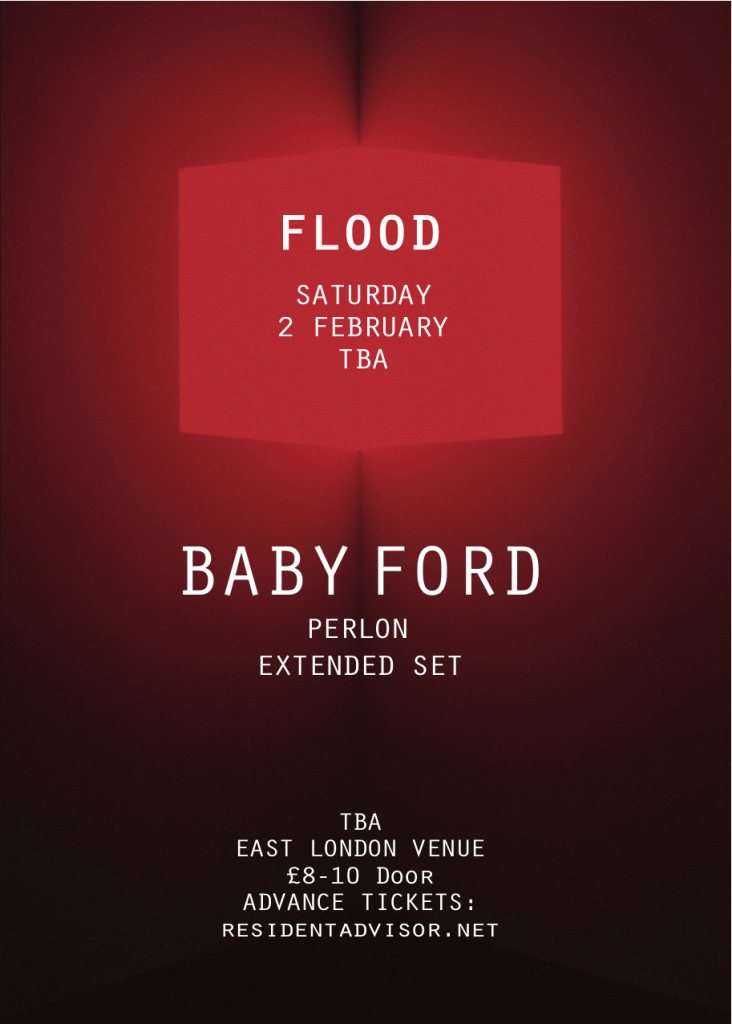 Flood presents Baby Ford (Extended set) - Flyer front