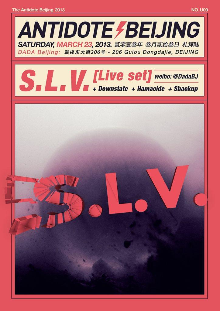 SLV, Hamacide, Downstate - Flyer front