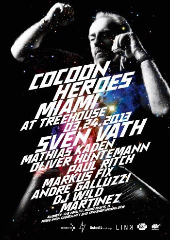 Cocoon Heroes Miami - Flyer front
