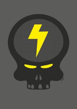 Killekill Electrix: The Hacker, Dan Lodig, DJ Flush, Frank Bean - Flyer front