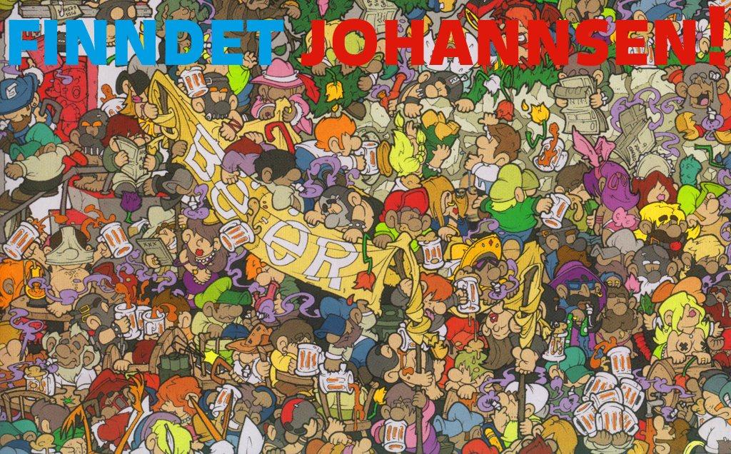 Finn Johannsen - Flyer front