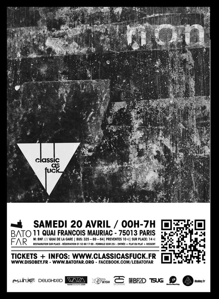 Non Series Label Night with Psyk - Maan - Raffaele Attanasio - Flyer back