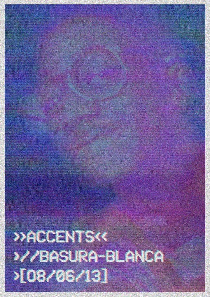Accents presents Matt Mclarrie & Chris Clark - Flyer back