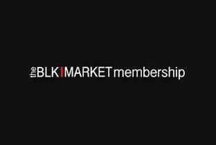 Blkmarket Membersip presents Turbo Recording Showcase with Tiga & Martyn - Flyer front