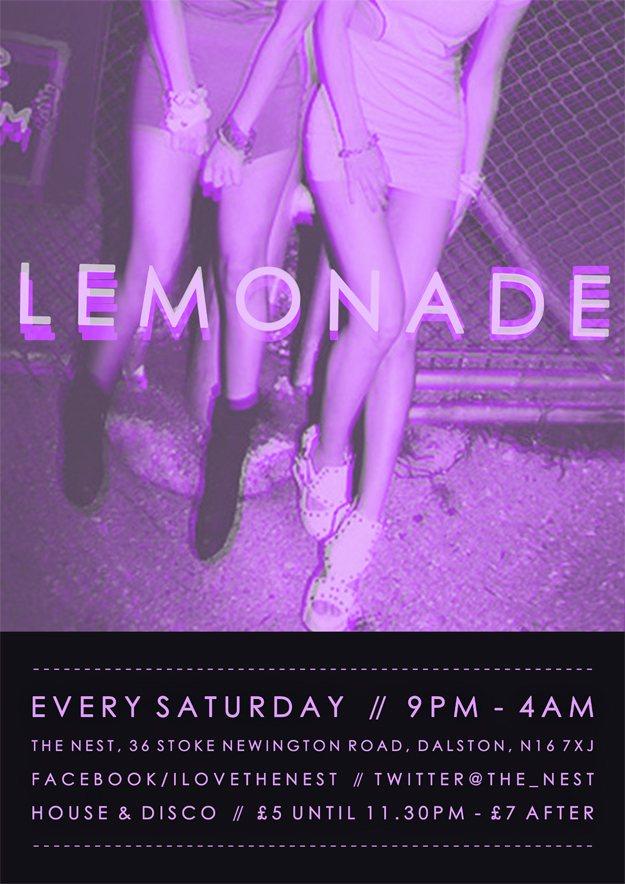 Lemonade - Punks Jump Up + C90s - Flyer front