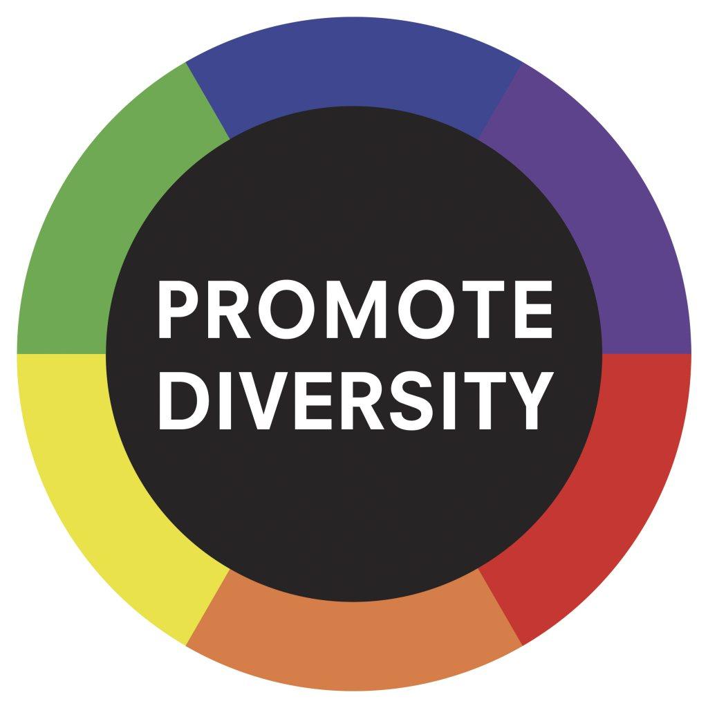 Promote Diversity - Flyer front