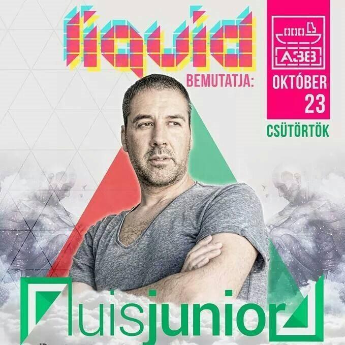 Liquid Pres. Luis Junior Hungary - Flyer back