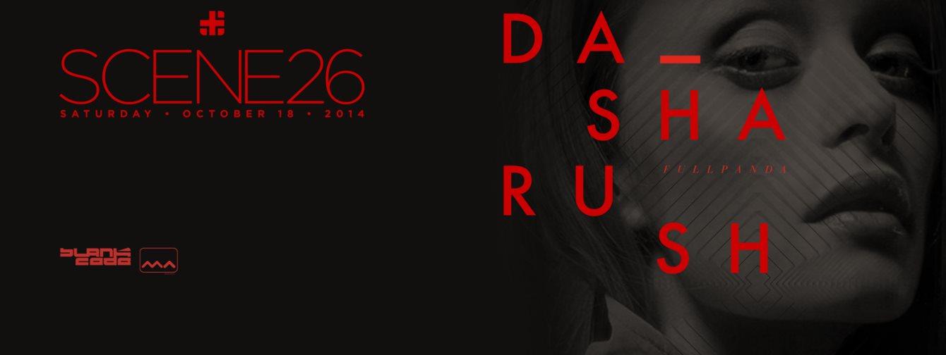 Scene 26 with Dasha Rush - Flyer front