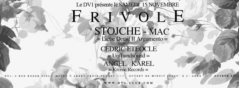 Frivole - Flyer front