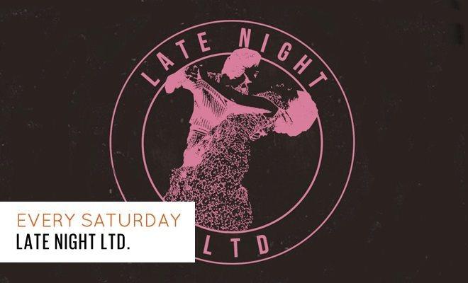 Late Night LTD: Klaves + Lemmy Ashton + Harry James - Flyer front