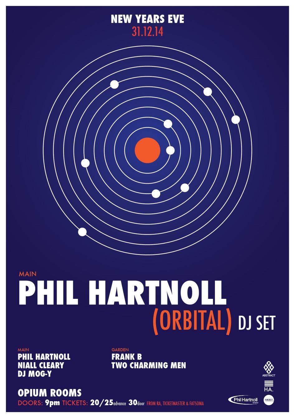 *Date Change*Abstract & Subject present: Phil Hartnoll (Orbital Classic DJ set) - Flyer front