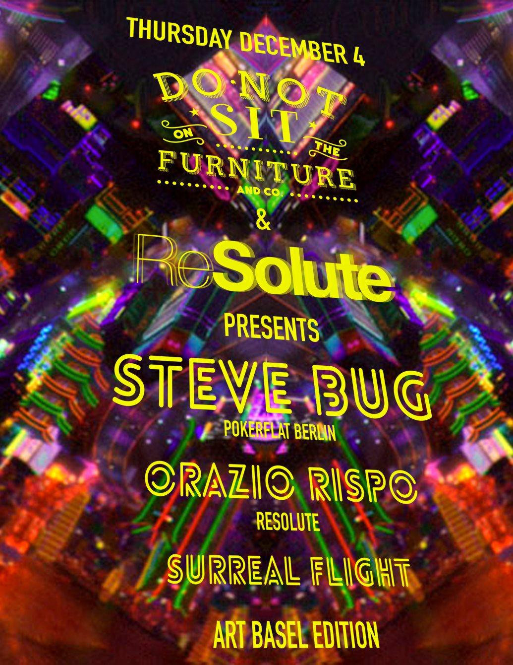 Steve Bug (Art Basel Edition) - Flyer back