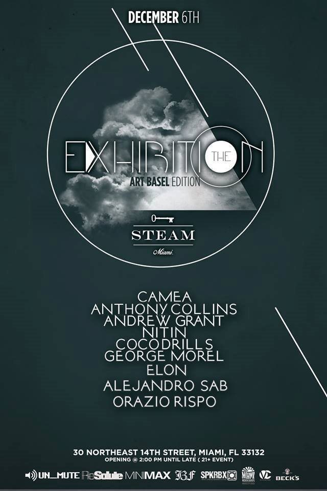 The Exhibition: Art Basel Edition - Flyer front