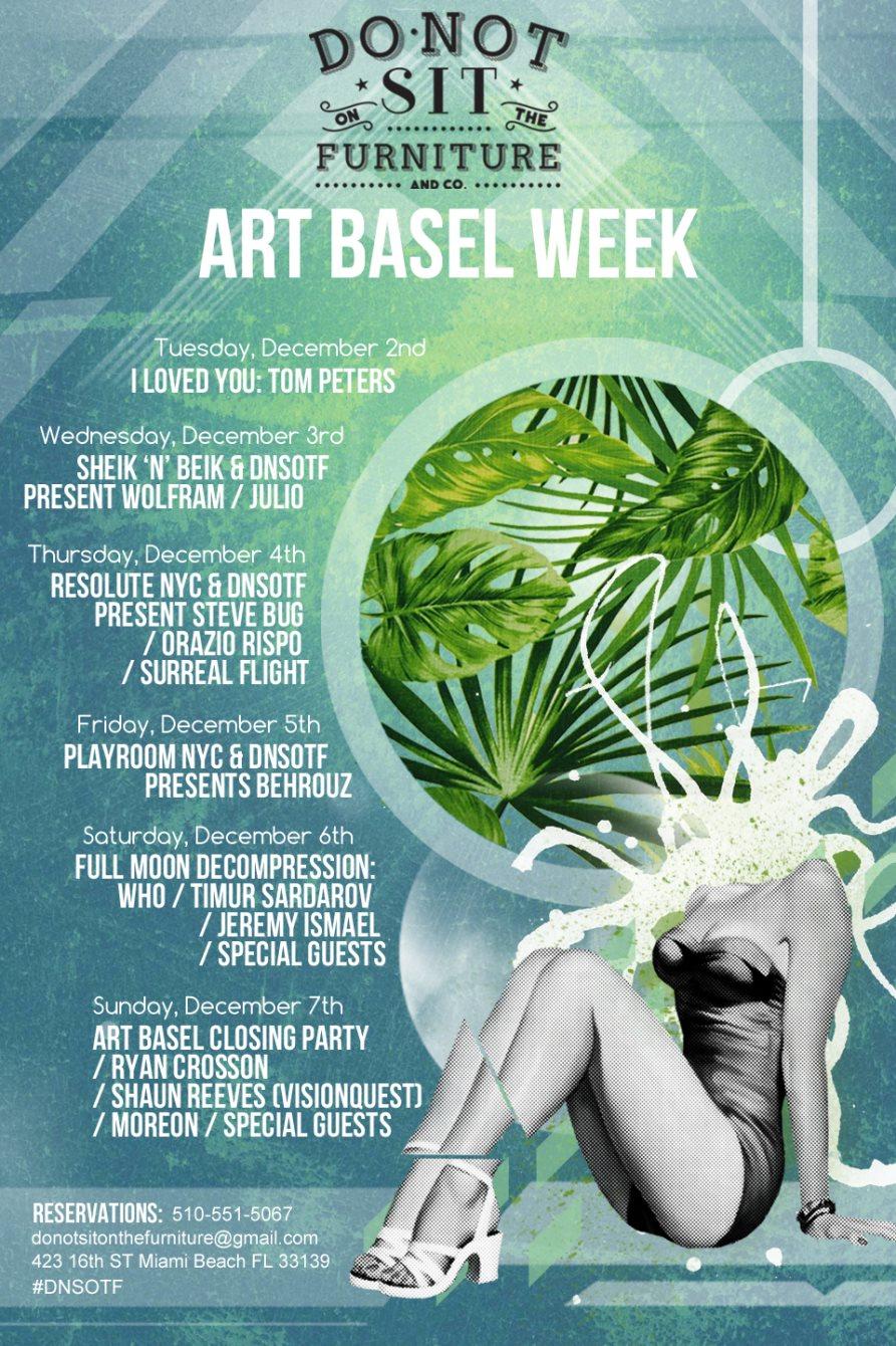 Ryan Crosson & Shaun Reeves: Art Basel Edition - Flyer back