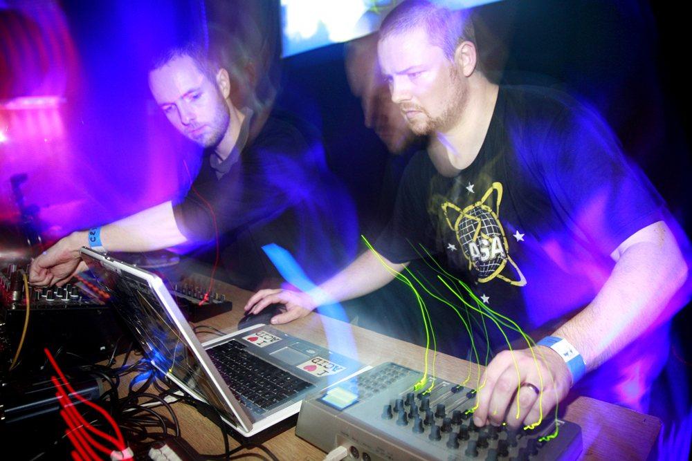I Love Acid IST Fertig: Affie Yusuf, Posthuman, DJ Flush and More - Flyer front