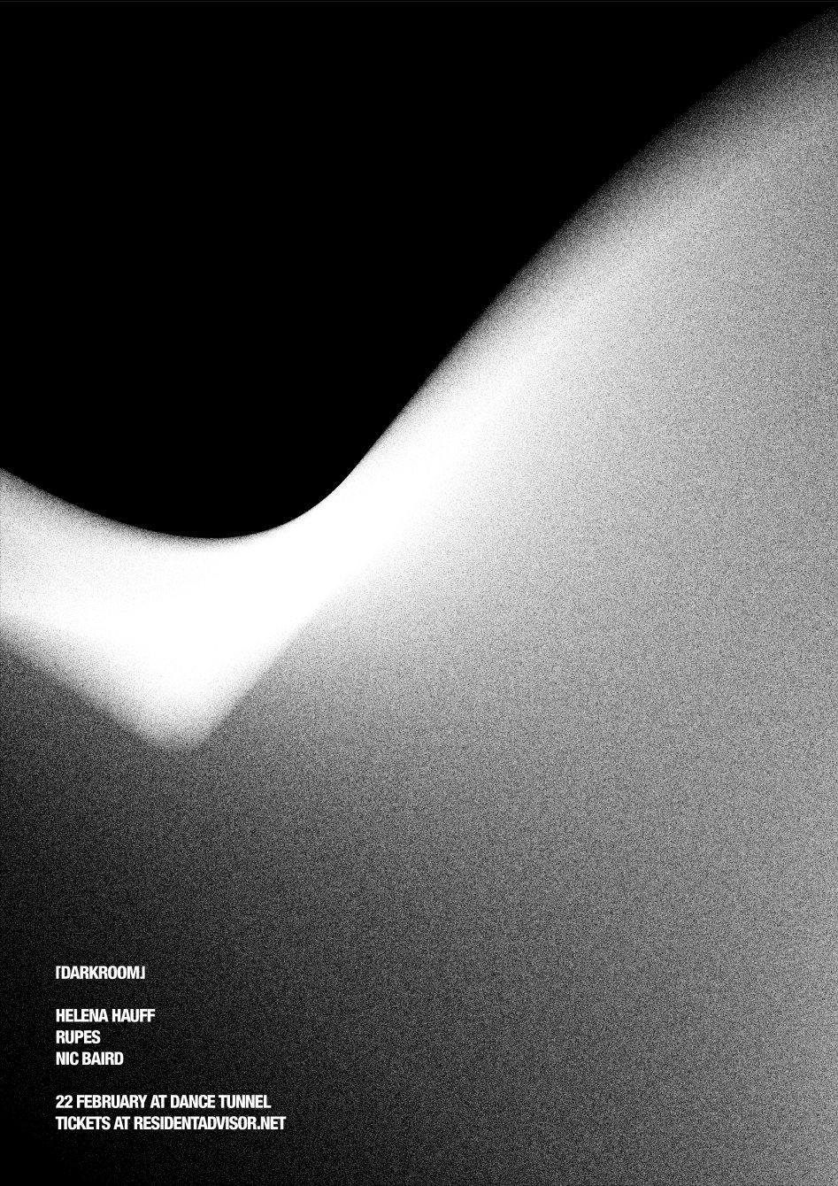 Darkroom with Helena Hauff - Flyer front