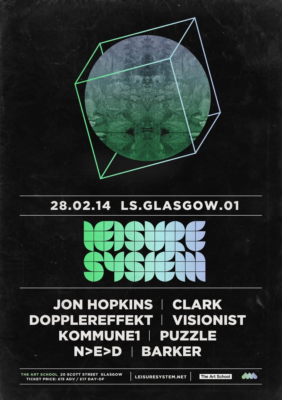Leisure System Glasgow 01 - Flyer front